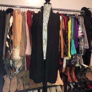 Nanette Lepore merino wool sleeveless sweater vest